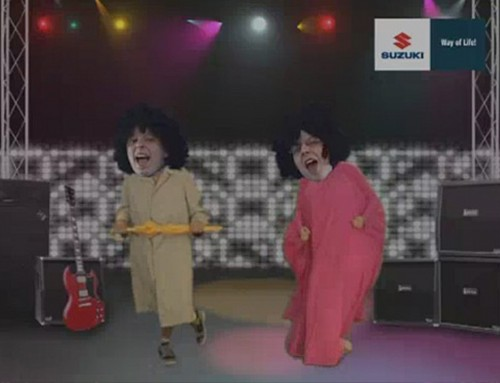 """Promotion Tätigkeit von Suzuki beim Festival Event """"Rock am Ring"""""""