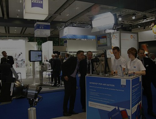Verkaufsfördernde Beispiele auf einer Messe für chirurgische Technologien und Innovationen!