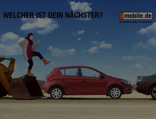 Promotion der Produkte: Individuelle Bluebox für mobile.de!