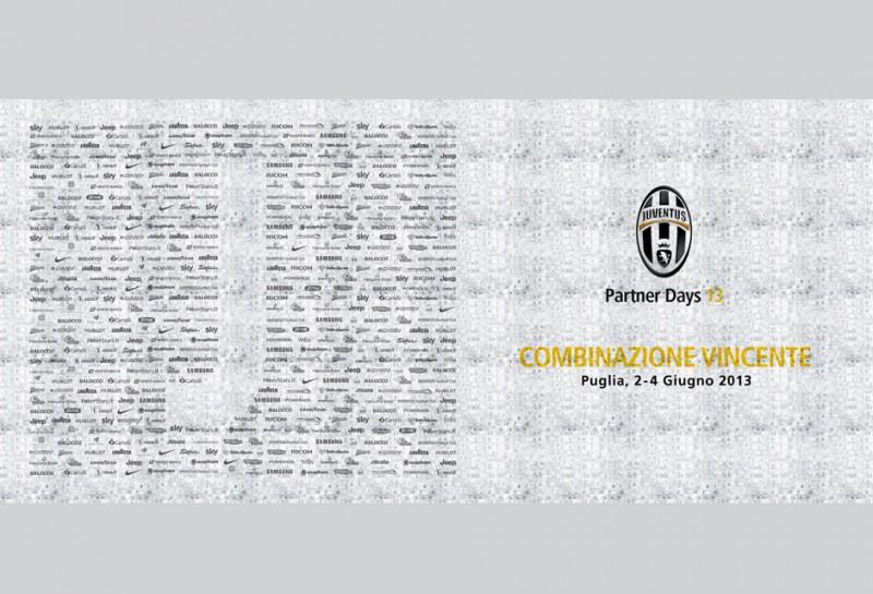 Teambuilding Event Italien - Fotomosaik für Juventus Turin in Apulien