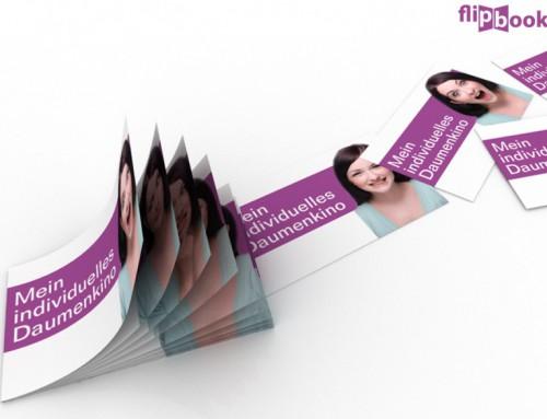 Daumenkino Give-away – Mit dem mobilen Greenscreen-Studio zum eigenen Daumenkino