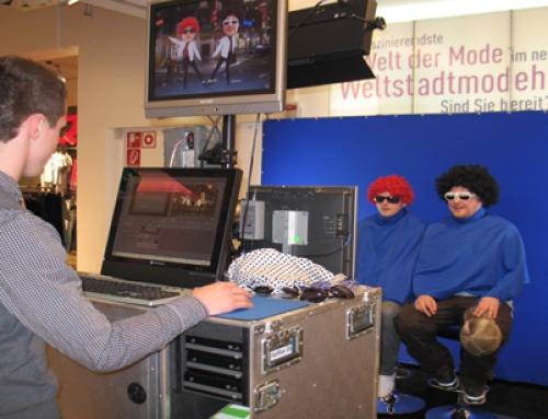 Das Musikvideo Funmodul war das Highlight für alle Besucher!