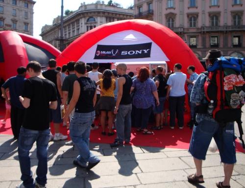 Clip-Star und Foto-Fun als Stimmungskanone in Milan