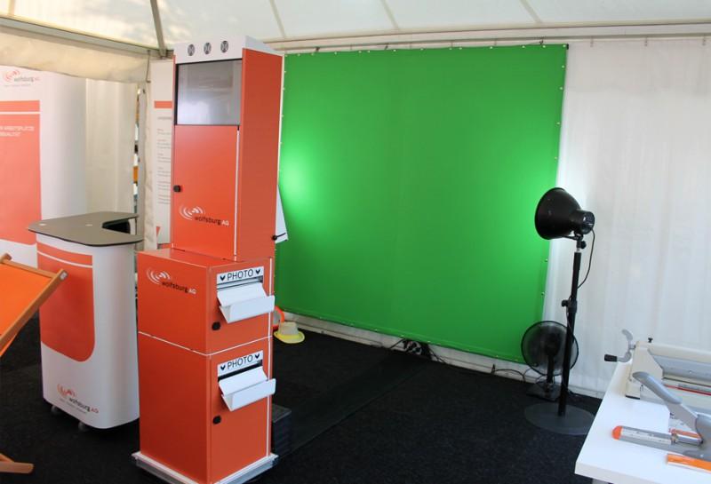 Daumenkino Fotoevent Wolfsburg - Mobiles FLIP-BOOK Fotostudio für Wolfsburg AG