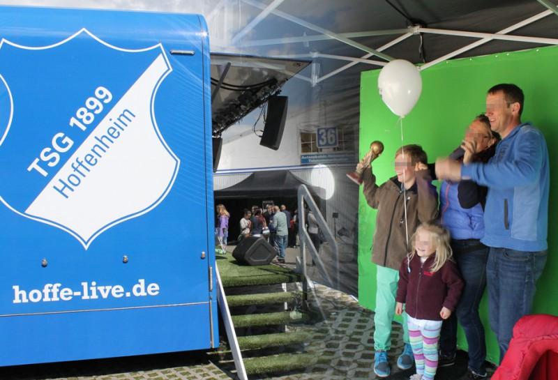 Mobiles Daumenkino leihen - TSG Hoffenheim in Mannheim