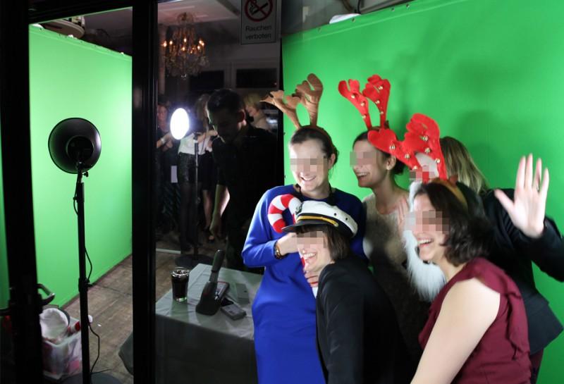 Daumenkino Event auf Christmas Party für Ketchum Pleon in Düsseldorf