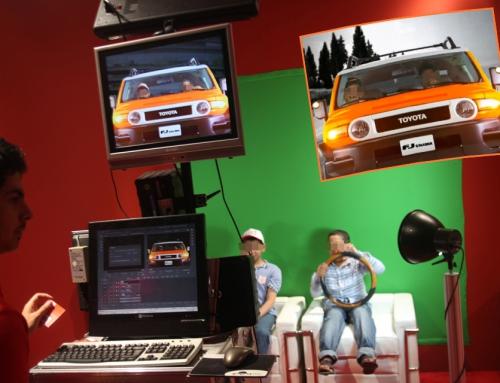 Videobox begeistert Toyota-Eventteilnehmer in Saudi-Arabien