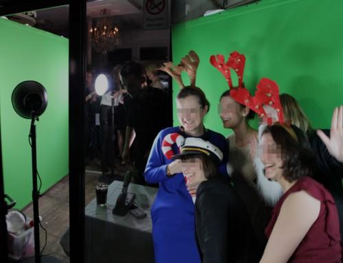 SOCIAL-PRINTER begeistern Gäste auf Firmenevents zu Weihnachten