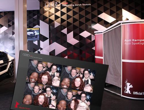 Fotobox mieten Berlin – Audi AG Partner der Berlinale 2015