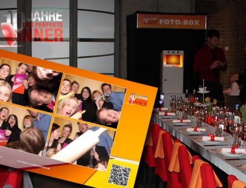 Photobooth mieten Köln – 10 Jahre das perfekte Dinner