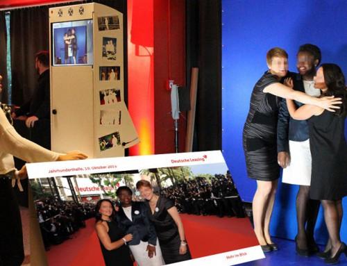 Photobooth mieten Frankfurt – Deutsche Leasing Event