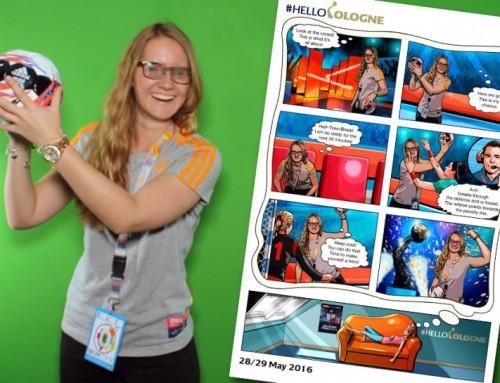 Comic Eventfoto Köln – COMIC SHOOT auf der VELUX EHF FINAL4 Party