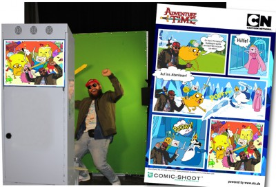 Comic Eventfoto München - Cartoon Network VIP-Familien-Event