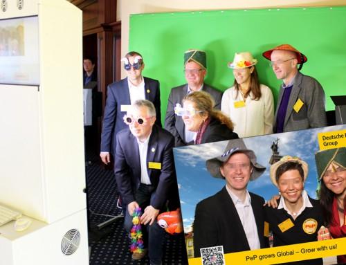Fotoaktion Bluebox Rostock – Deutsche Post DHL Führungskräftetagung