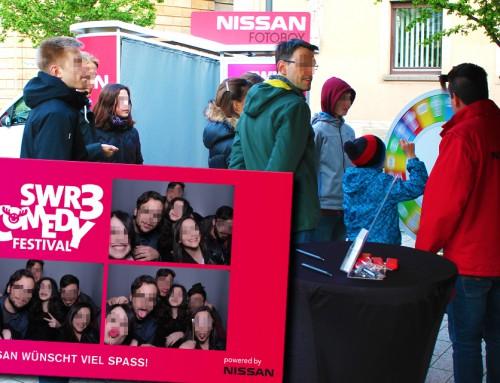 Fotobox Bad Dürkheim – Nissan Fotobox auf SWR3 Comedy Festival