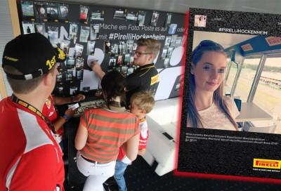 Hashtag Printer Hockenheimring - SOCIAL-PRINTER und Motorsport
