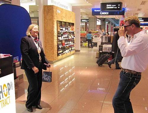 POS Fotoaktion München – L'TUR in Duty Free Shops deutscher Airports