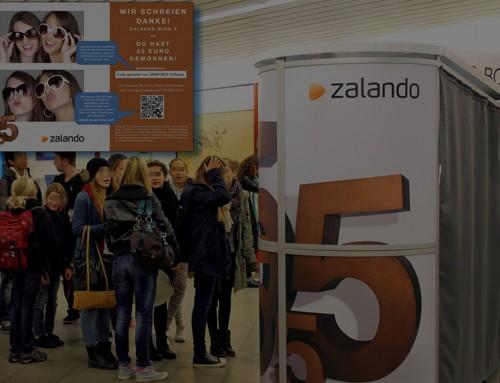 Inspirierende Ideen für Roadshow von Zalando zum 5-Jährigen Jubiläum