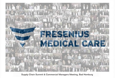 Teambuilding Bad Homburg - Fresenius Medical Care Fotomosaik Event