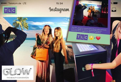 Hashtag Printer Instagram - GLOW Beauty- und Lifestyle-Messe Hannover