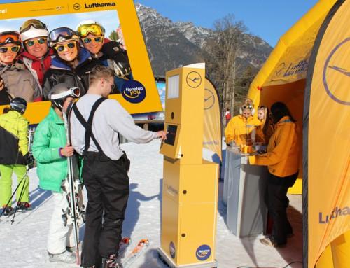 Fotobox mieten Zillertal – Lufthansa Ski Roadshow