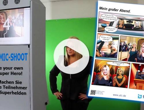 Comic Eventfoto Frankfurt – Effiziente Vermittlung Ihrer Werbebotschaft