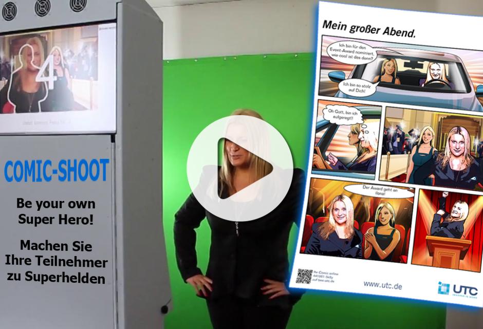 Comic Eventfoto Frankfurt - Effiziente Vermittlung Ihrer Werbebotschaft