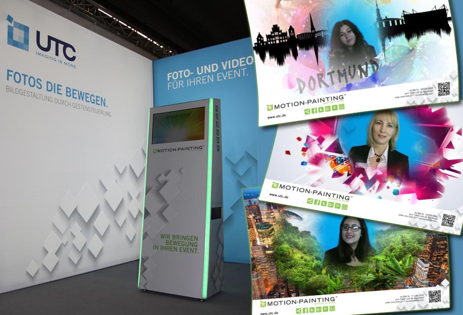 Fotobox mit Gestensteuerung - Webalbum mit animierten GIFs