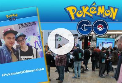 Hashtag Printer München - Pokémon Go Abenteuer mit Social Media Sharing