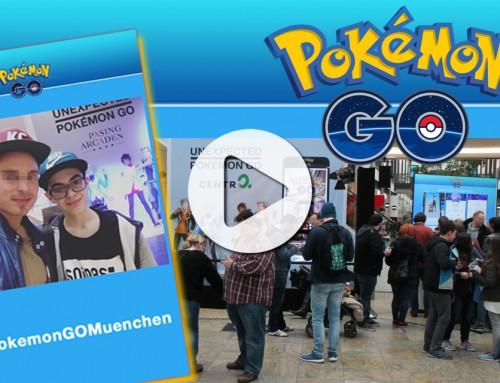 Hashtag Printer München – Pokémon Go Abenteuer mit Social Media Sharing