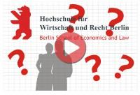 Teambuilding Event Berlin - Fotomosaik für Hochschule für Wirtschaft und Recht