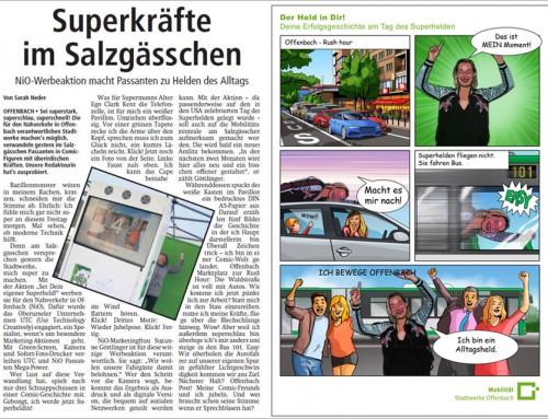 Comic Eventfoto Offenbach – Individuelle Cartoons für Werbeaktion