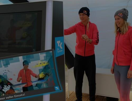 Tolles Roadshow Beispiel in Hamburg – Animierte GIFs auf Fotoevent