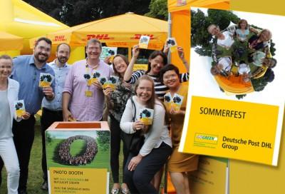 360° Fotoevent Bonn - Deutsche Post Fest mit Social-Media-Drucker