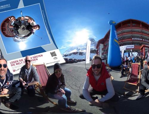 360° Fotomodul Österreich – Little-Planet Hashtag Printer für Get-together