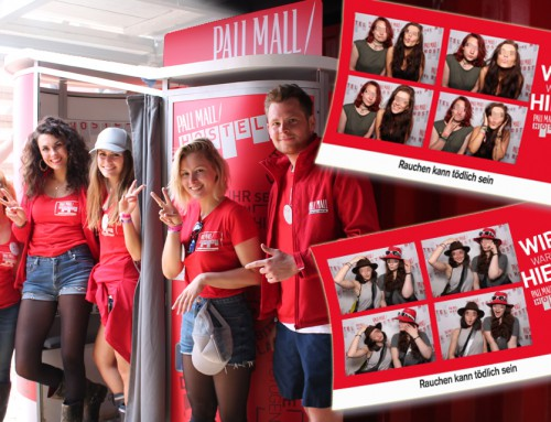 Fotobox mieten Nürburgring – Rock am Ring Photobooth und Pall Mall