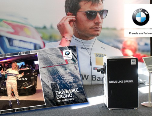 Hashtag Printer Österreich – BMW Fahrertraining und Social Media