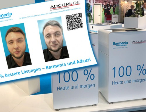 Fotoaktion Aging Dortmund – Alterungssoftware für Barmenia Versicherung