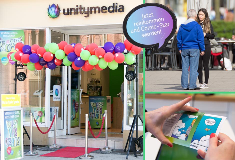 POS Fotoevent Köln - Comic-Fotoaktion für Unitymedia Roadshow