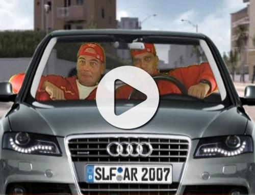Neues Audi Cabriolet virtuell präsentiert – Videobox verkauft in Ingolstadt