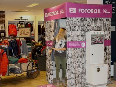 der Fotoautomat mit Sofortdruck