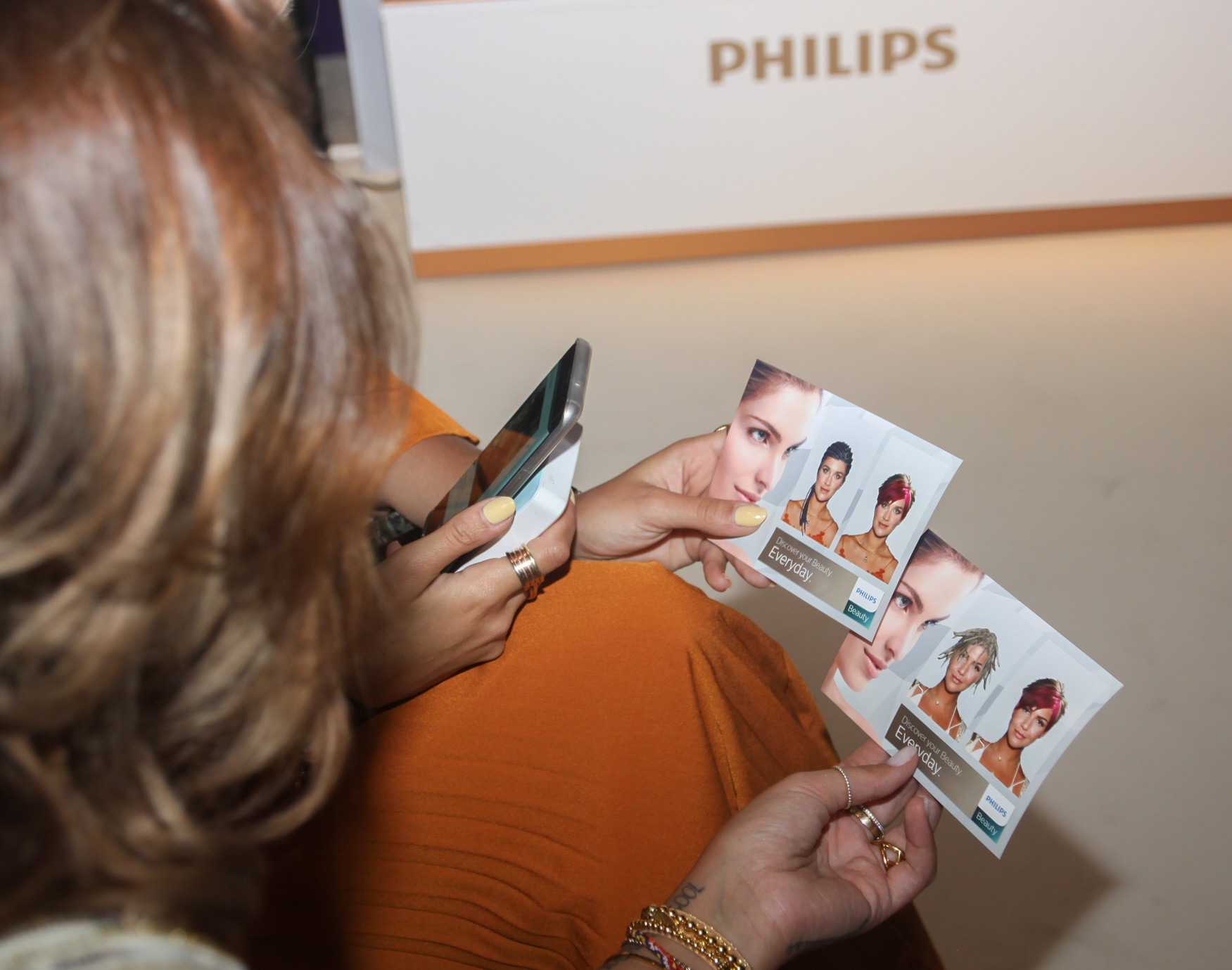 Virtuelle Frisuren und Bärte Beispielfoto