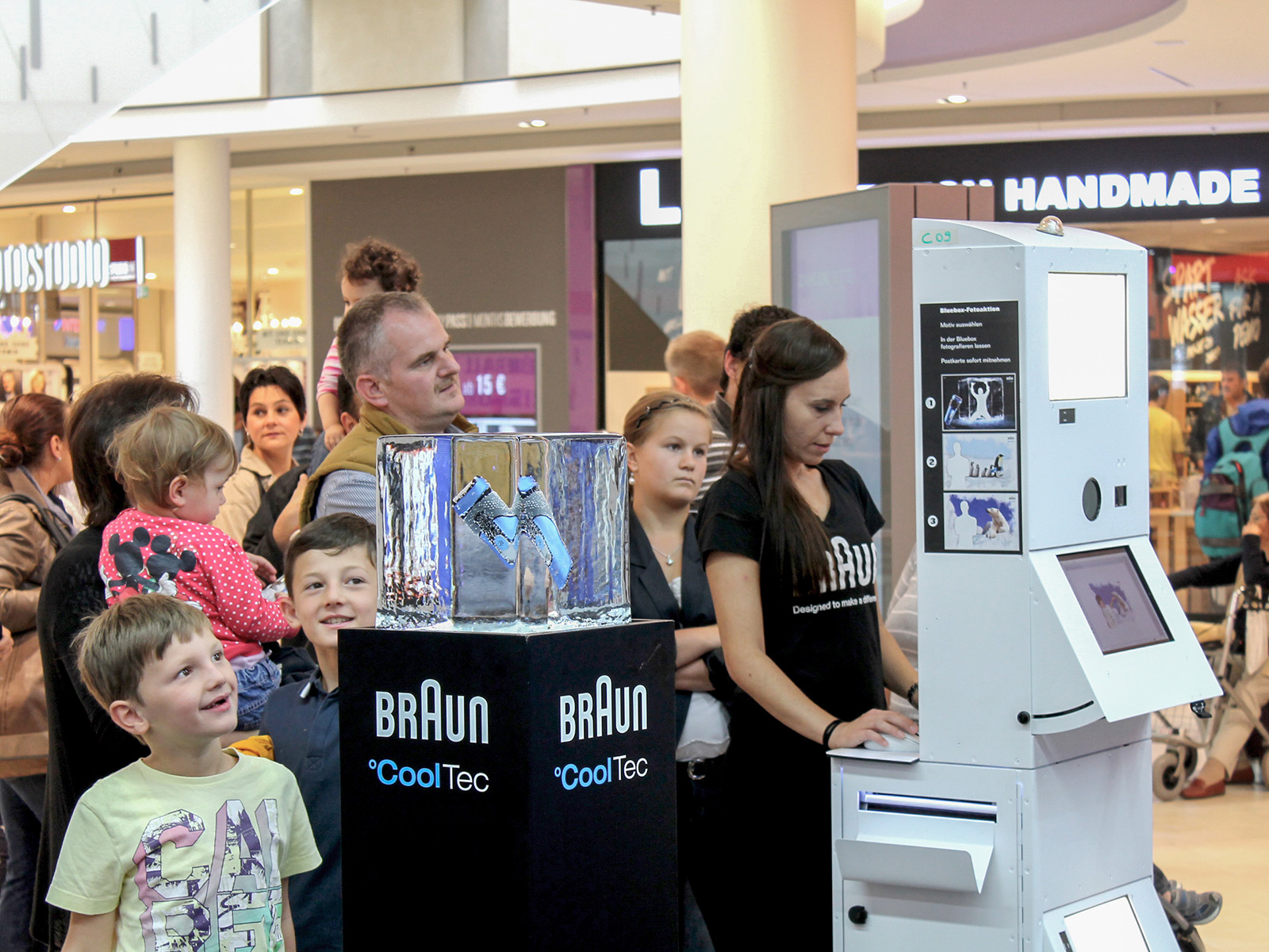 Besucherstrom lenken am Point of Sale mit der Fotobox