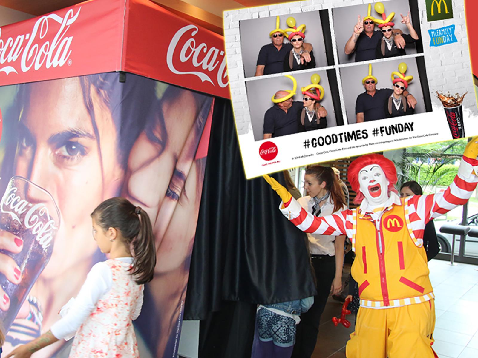 Fotobox mieten McDonalds McFamily FunDay