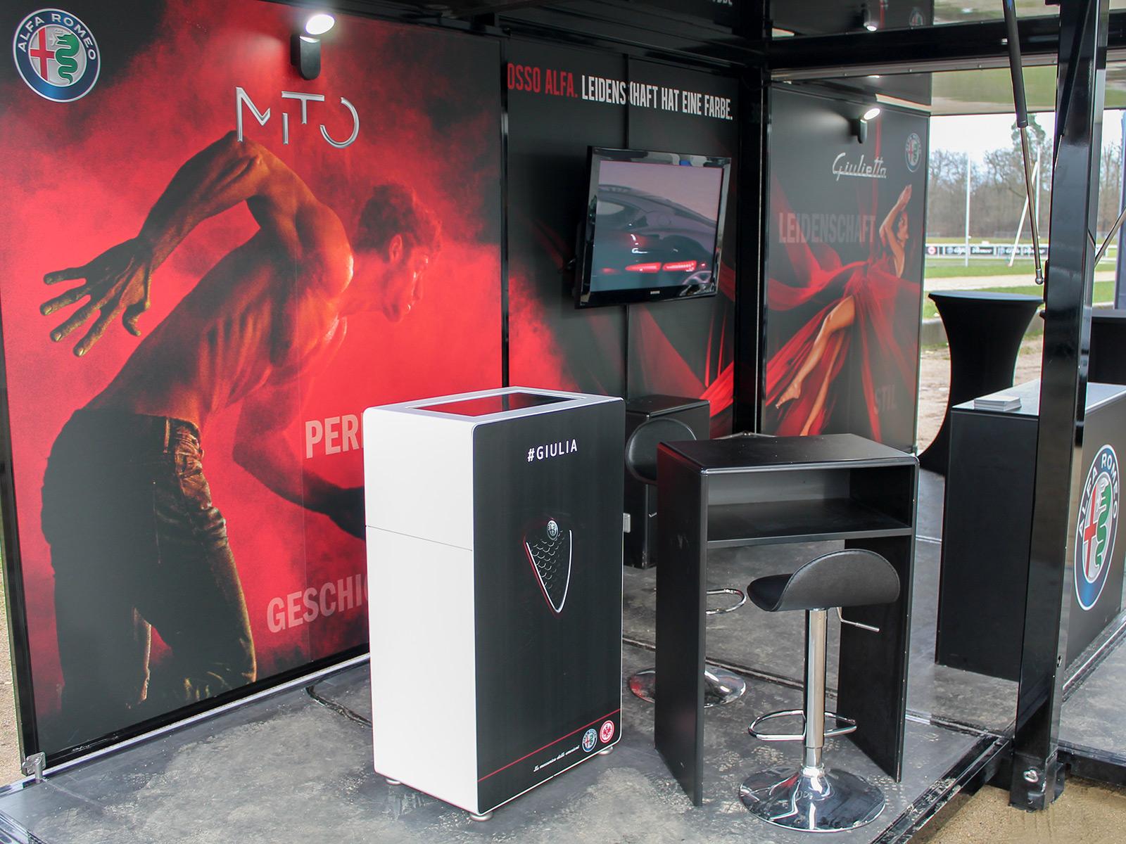 Fotoautomat Branding Beispiele