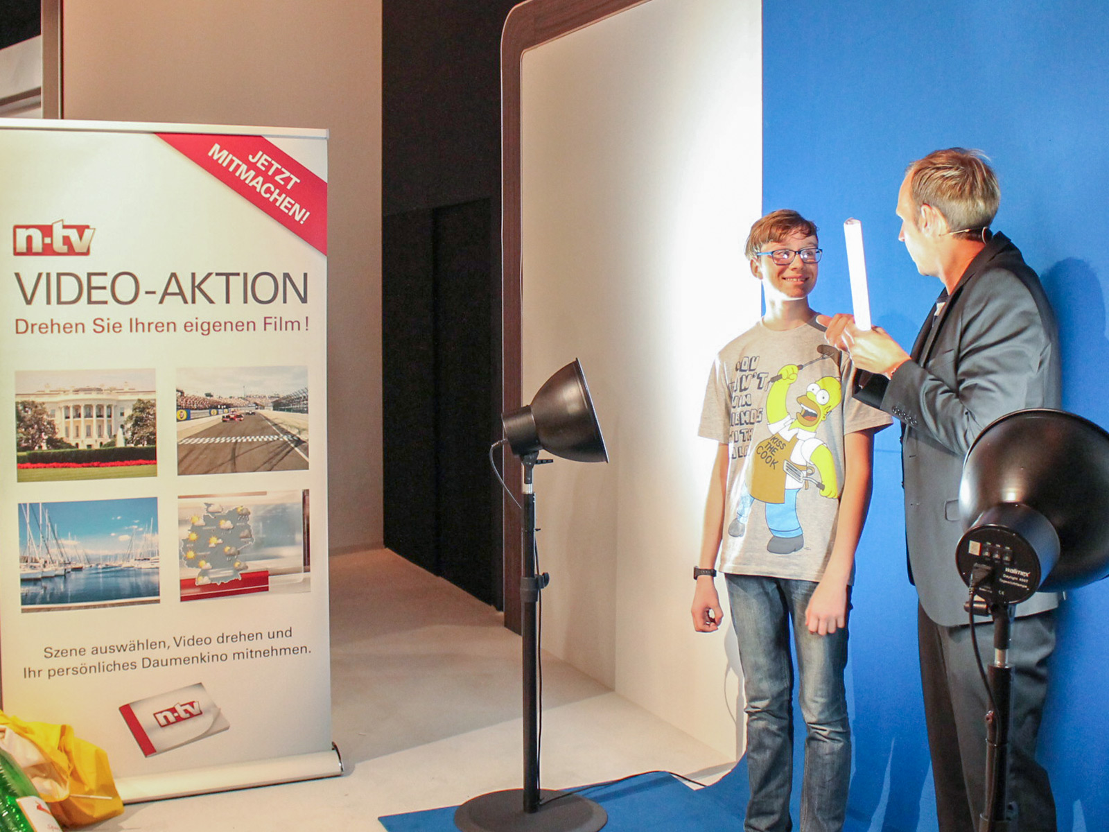Messestand Fotoaktion