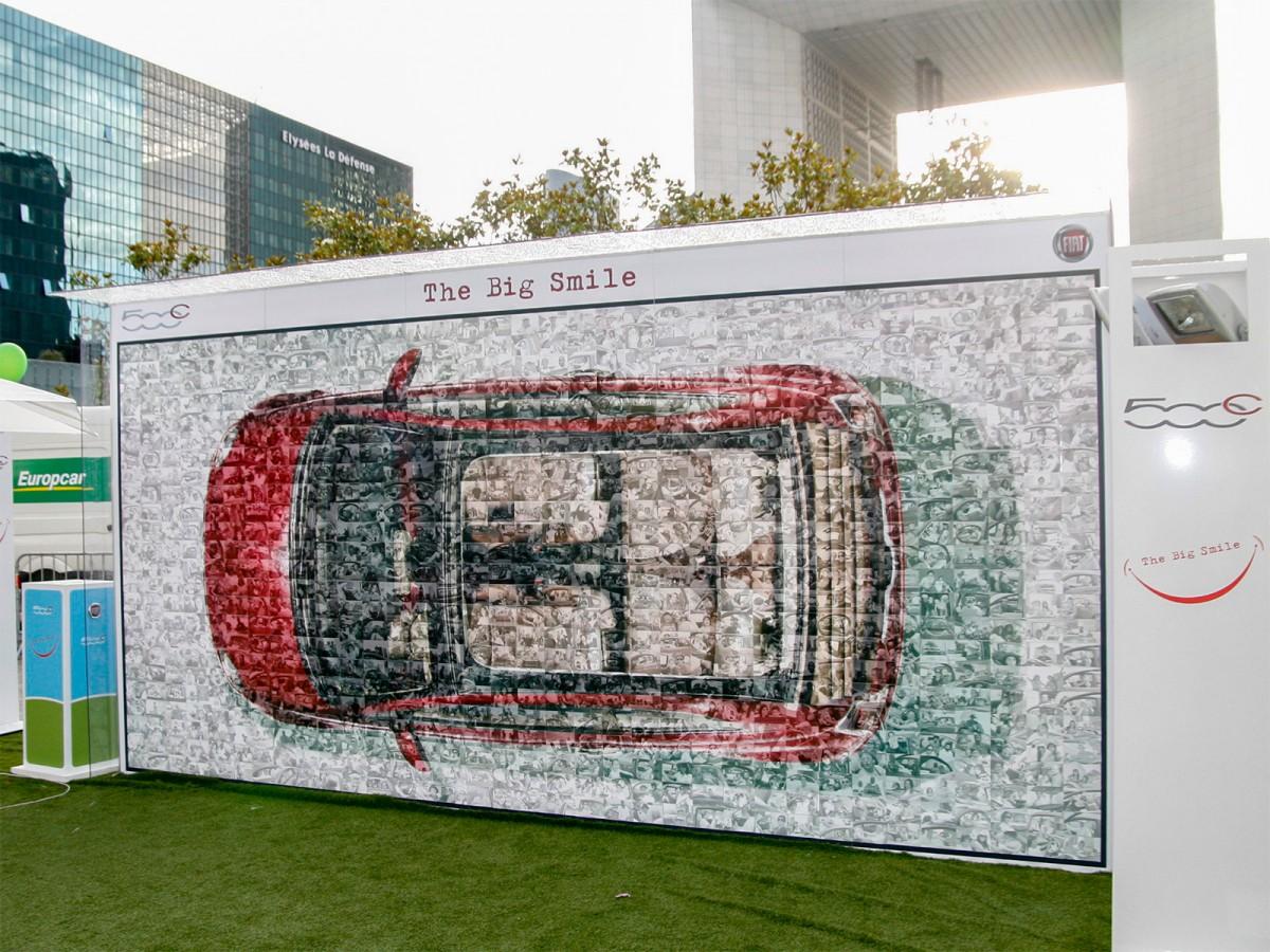 Roadshow Foto Mosaic für Fiat