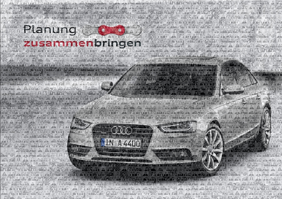 Mosaik Audi