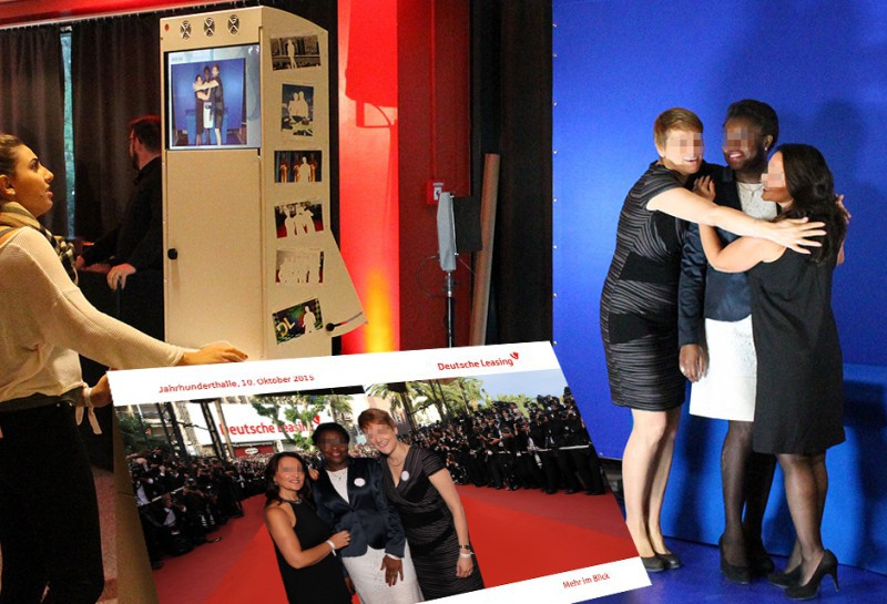 Photobooth mieten Frankfurt - Deutsche Leasing Event